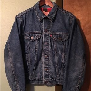 Levi's Vintage Flannel Lined Denim Jacket